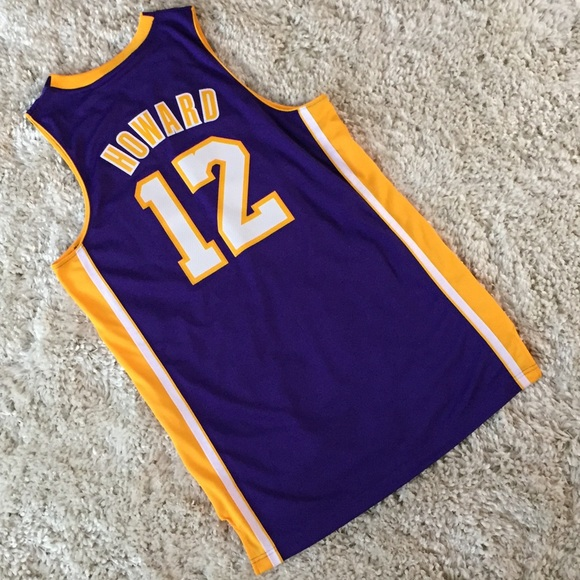02331924a67 Adidas Dwight Howard Los Angeles Lakers Jersey M